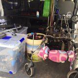Ayer montamos en nuestra furgo el taller de asistencia móvil.