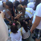 La semana pasada estuvimos una vez mas en el colegio Alkor con sus niños.