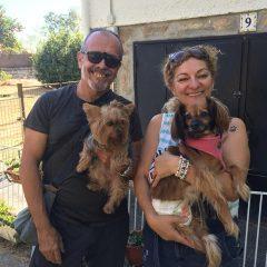 ADOPTADA!!!  Nuestra chica CUCA se fue este fin de semana con una superfamilia que vino a por ella haciéndose un largo viaje desde Barcelona.