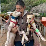 JANA y NURIA ya están muy recuperadas y van andando bien, así que se las hemos pasado a nuestra compañera Loli de Ciudadanimal.